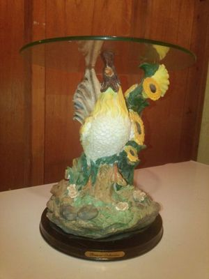 Rooster table for Sale in Owensville, MO