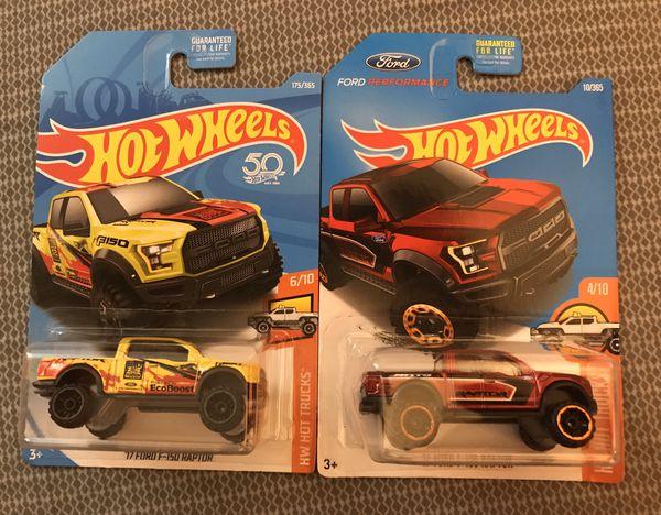 Hot Wheels Ford Raptor lot