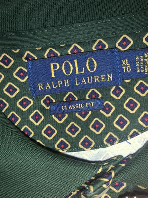 Polo Ralph Lauren shirt green pattern for Sale in Upland, CA