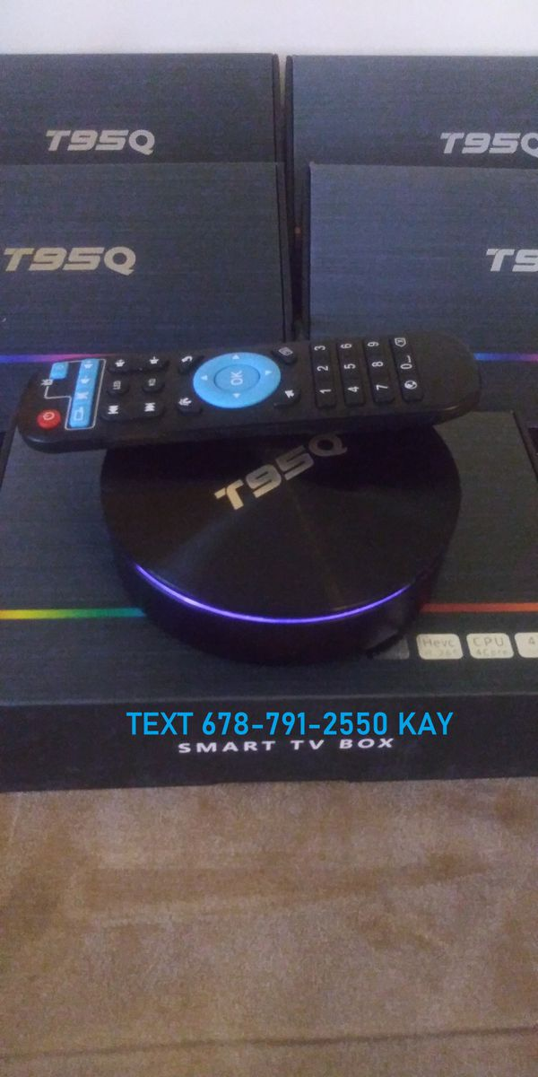4K Disc Shape Ultra Fast HDR Android TV Box! LED lightshow! Way better than a stick!