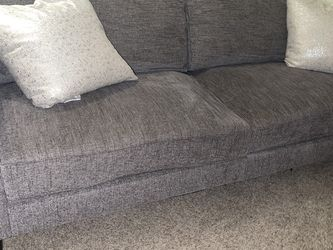 LIVING SPACES GREY COUCH - LIKE BRAND NEW - GOOD FOR SHOWINGS for Sale in San Diego,  CA