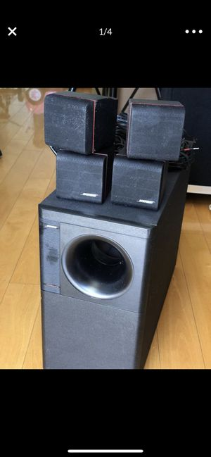 Bose speakers with free wall stands. for Sale in Sunnyvale, CA