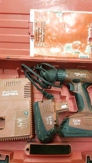 Hilti drill and charger 2 batteries batteries may not work for Sale in Franklin Park, IL