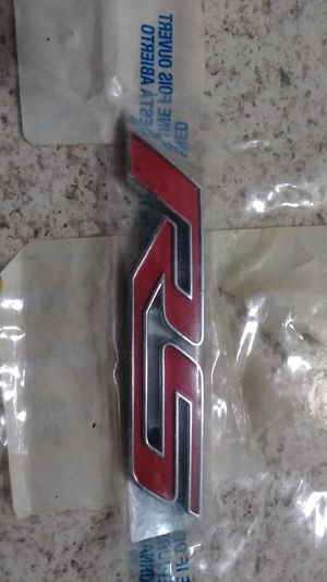 Geniune brand new rs emblem for Sale in La Habra, CA
