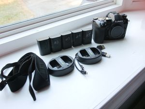 Panasonic Lumix G9 Camera with Batteries & Chargers for Sale in Quincy, MA