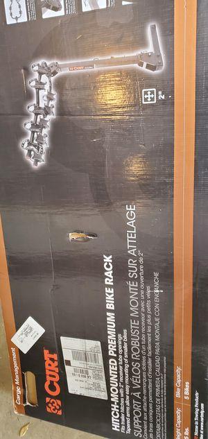 Curt bike rack hitch mount New for Sale in Turlock, CA