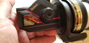 daiwa fishing reel like new perfect condition old school for Sale in Milford, CT