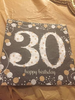 30th birthday party city bundle for Sale in Raleigh, NC