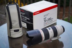 Canon 70-200mm f/2.8L IS II for Sale in Haleiwa, HI