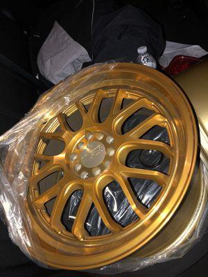 F1R Wheels F21 All gold for Sale in Coronado, CA