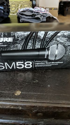 Sure sm58 mic open box NEVER USED!! for Sale in Los Angeles, CA