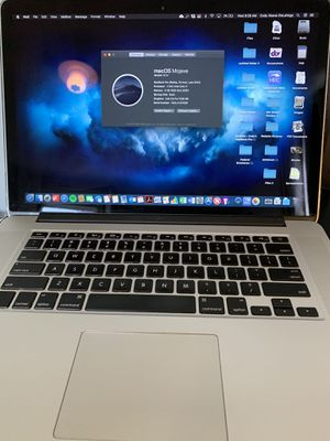 "15"" MacBook Pro Retina for Sale in Perry Hall, MD"