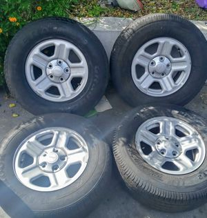 Wheels and tires set of 4 for Sale in Hialeah, FL