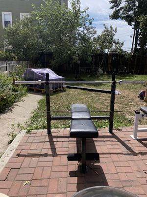 Olympic Weight Bench With Incline/Decline/Flat Positions for Sale in Pawtucket, RI