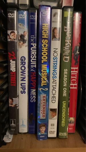 DVD Movies/TV shows for Sale in Sunnyvale, CA