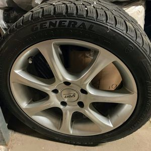 """Snow-Ready - Winter Tires And 17"""" Alloy Rims for Sale in Chicago, IL"""