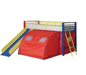Kids bed tent and desk for Sale in Burlington, NC