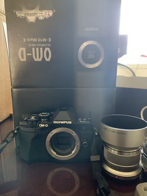 Olympus OM-D E-M10 MarkIII for Sale in College Park, MD
