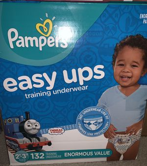 Pampers Easy Ups training Underwear Boys Thomas the Train Design 2T-3T Enormous Pack for Sale in Mt. Juliet, TN