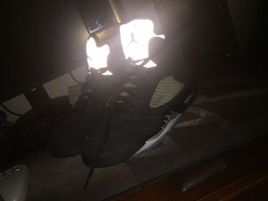 """Retro Air Jordan V metallic """"OG 2016 Release"""" , size 11 condition 9.5/10 no creases what so ever for Sale in Smyrna, TN"""
