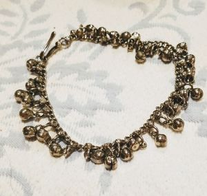 Pewter anklet with bells one size for Sale in Ashburn, VA