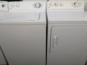 """GE"" MATCHING SET WASHER AND ELECTRIC DRYER SUPER CAPACITY PLUS for Sale in Phoenix, AZ"