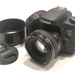 Canon Rebel T6s Camera With 50mm F/1.4 Lens for Sale in Lavallette, NJ
