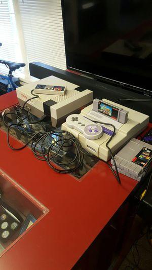 Nintendo and Super Nintendo for Sale in Lodi, CA
