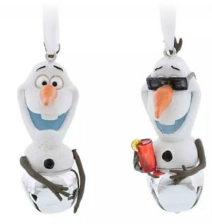 Disney Frozen 2. OLAF Christmas bells ornaments for Sale in Rialto, CA