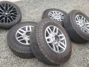2019 ford f-250 f-350 superduty oem wheels and tires 20 for Sale in Seattle, WA