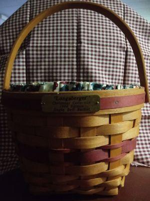 1994 Longaberger Christmas Jingle Bell Basket for Sale in Newark, OH