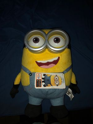 Giant minion, with tag on it for Sale in US