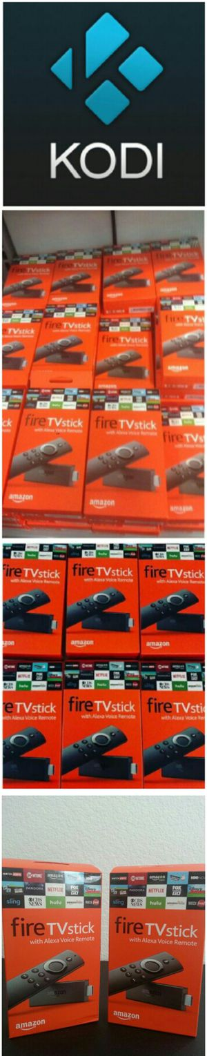 Amazon Fire TV Stick Firestick Unlocked Fully Loaded l No More Cable Bills, No More Subscriptions!!! Android TV Box Killer!! for Sale in Las Vegas, NV
