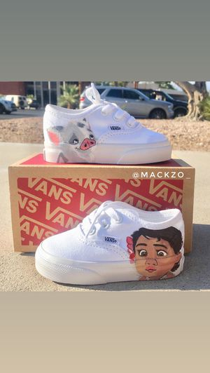 Custom baby Moana and Pua Vans for Sale in Las Vegas, NV