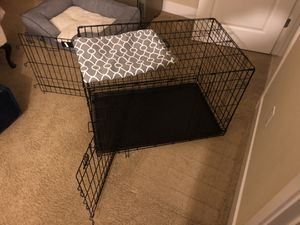 Dog kennel with kennel cover for Sale in Gilroy, CA