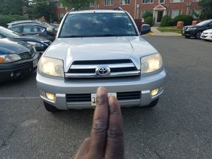 Toyota 4runner for sale, clean title, 4wd, new tires, everything works , no mechanical issue, drives like new! for Sale in Greater Landover, MD