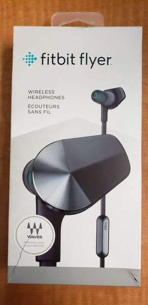Fitbit flyer wireless headphone for Sale in undefined