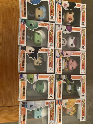Pop! Dragonball Z and Super for Sale in South Riding, VA