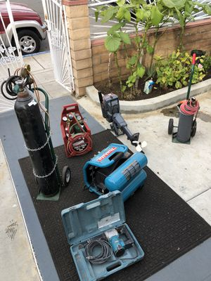 Tools for sale Compressor sold already for Sale in San Diego, CA