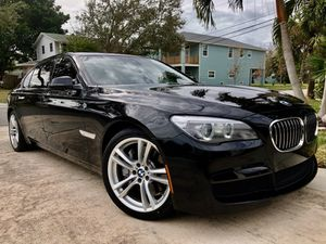 2014 BMW 750 LI I'm sports package loaded 41,000 miles for Sale in Tampa, FL