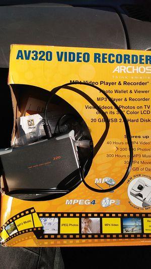 Av320 video recorder for Sale in Washington, DC