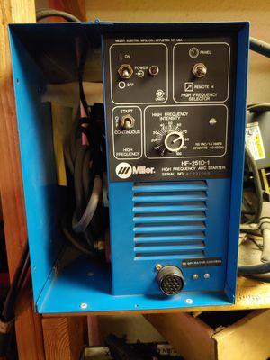 Miller High Frequency Tig Welder for Sale in Modesto, CA