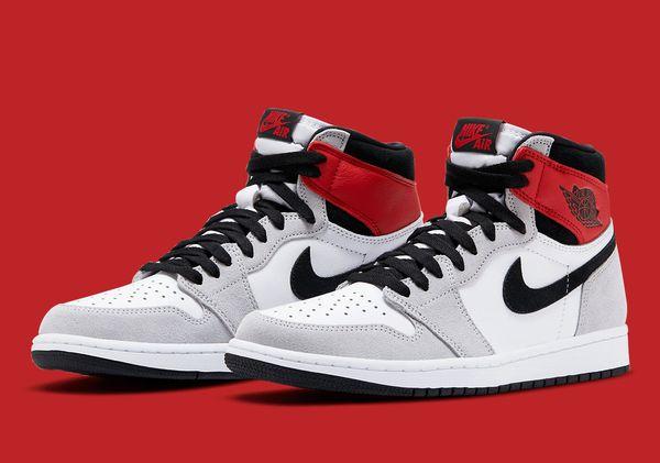 Jordan 1 light smoke gray