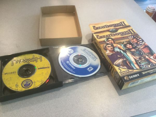 CD ROM Computer Game Great Empires 2