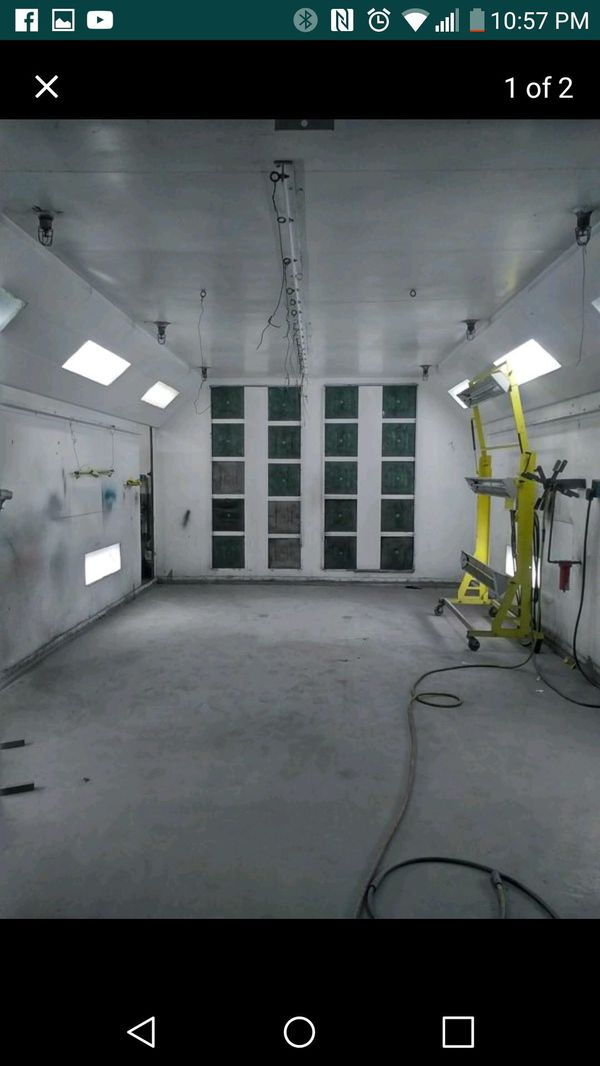 Spray Booth Front Air Flow For Sale In Los Angeles Ca Offerup