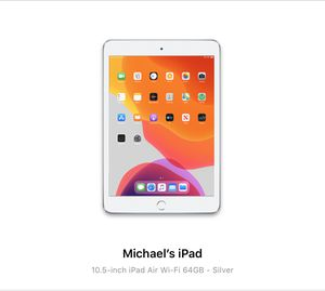 New iPad Air (WiFi) for Sale in Miami, FL