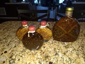 SET OF FOUR KITCHEN JARS for Sale in Stokesdale, NC