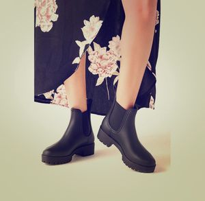 Jeffrey Campbell cloudy- Maroon shiny rain boots for Sale in Chapel Hill, NC