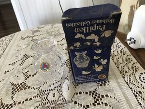 Hofbauer Crystal Butterfly Bud Vase for Sale in Vienna, MO