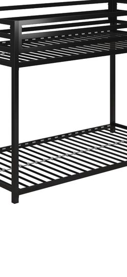 Twin —twin Metal Bunk Bed No Mattress Including for Sale in Las Vegas,  NV